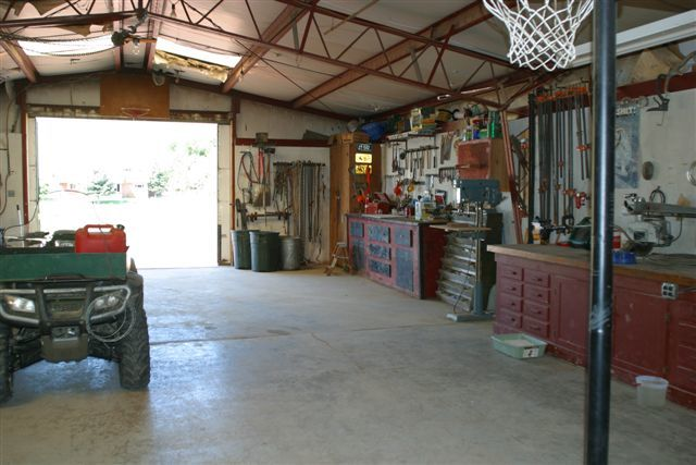 Garage part of shop