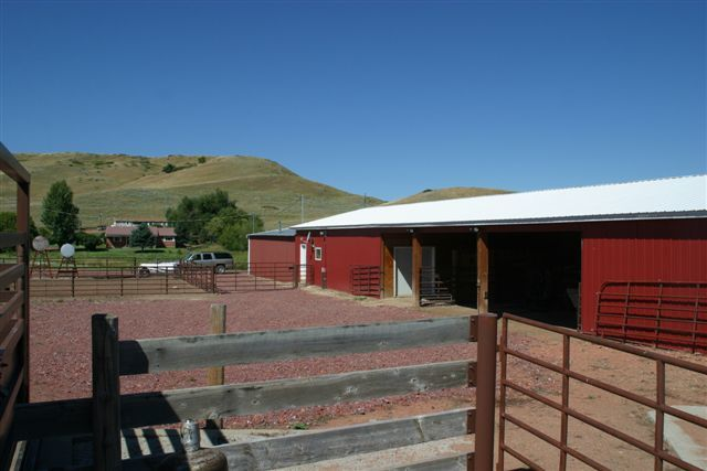 Shop and barn area